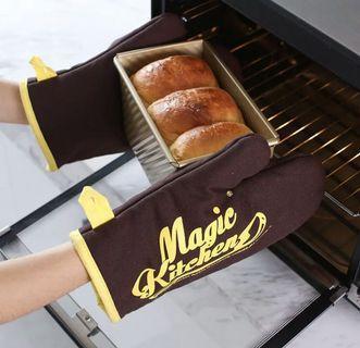 🚚 烘培厚手套 隔熱手套 左手