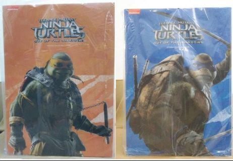 1/6 TMNT Out of the Shadows - Leonardo & Michelangelo Set