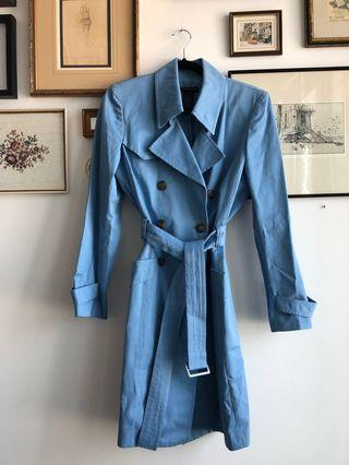 90's Kenneth Cole blue trench - size M