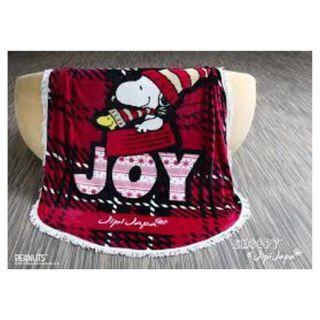 Snoopy x Jipi Japa 限定冬日毛毯 round blanket 原價$599