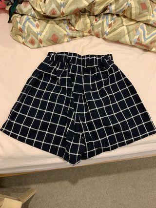ASOS plaid shorts
