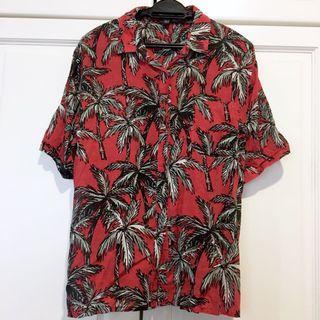 MANGO Hawaiian Shirt