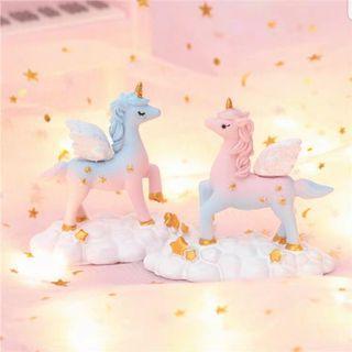 🚚 Unicorn cake toppers/ Figurine/toy/Display/miniature