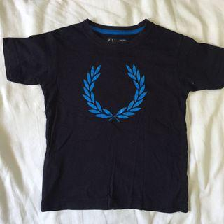 KIDS FRED PERRY SHIRT