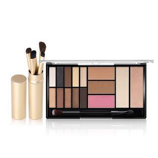 O.TWO.O Matte Smoky Eyeshadow Palette 15 Shades + Eye Brushes Set