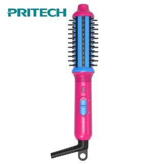 Pritech Mini Electric Hair Curler Ceramic Comb Hair Roller Curling Iron Styling