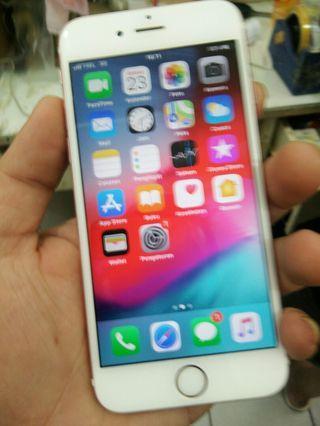 Iphone 6s 64gb Rosegold Lcd Original no rekon mulus fullset