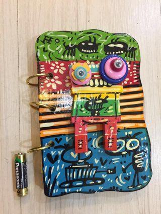 Artcraft Wooden Notebook 1