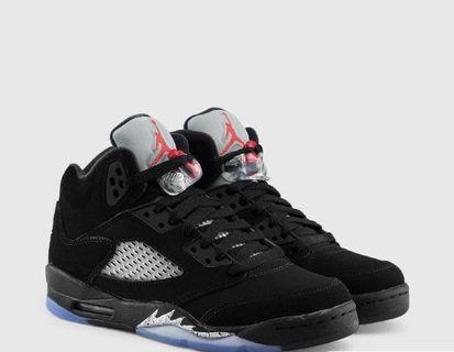 Jordan Metallic 5's