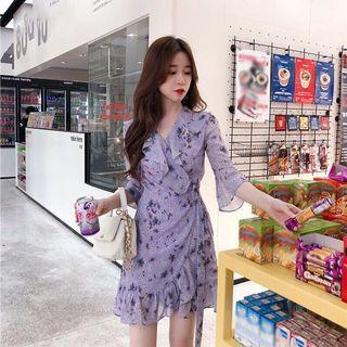 🚚 轉售~韓貨 雪紡一片式洋裝