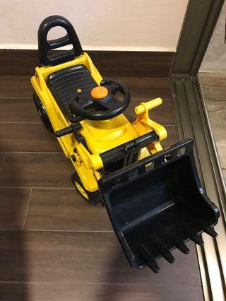 🚚 Toy Excavator walker