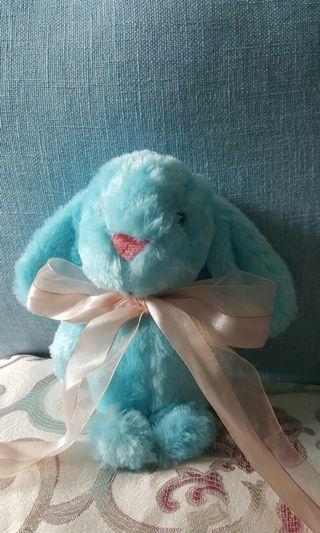 #4/24免運*藍色兔子玩偶