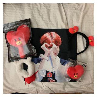 BTS/BT21 OFFICIAL MERCH!!! COMES WITH FREEBIES
