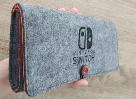 雙層 Switch 保護套 保護殼 Nintendo NDS 任天堂 手提袋 收納袋 收納包 保護包 機袋 機套 機殼 防震 遊戲 手制 protector case cover 實物拍攝 #mtrcentral #mtrtw #mtrmk #mtrtst #mtrssp