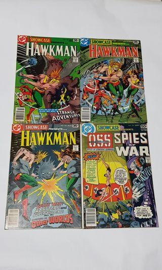 Showcase 101, 102, 103, 104 Hawkman, OSS #EndgameYourExcess