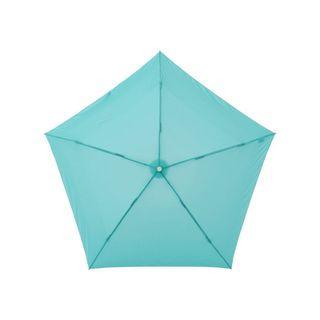 Amvel Pentagon72 Ultra-Lightweight Folding Umbrella (Mint Blue)