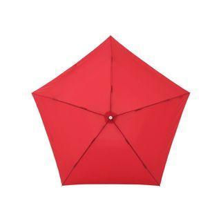 Amvel Pentagon72 Ultra-Lightweight Folding Umbrella (Pomegranate)