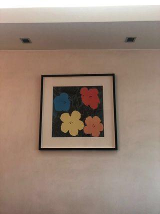 Living Picture in living room - 'color of life'