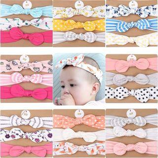 [Ready Stock] Baby Headband/ Fabric Headband/ Elastic (0-2yo)