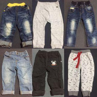 Take All branded Jeans and Pants for 1-2 years old
