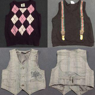 Take All Branded Vest and Chaleco for 1year old