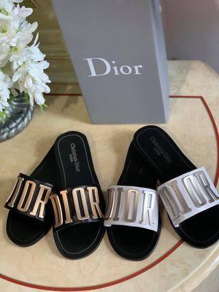 Dior Evolution Calfskin Leather Sandals