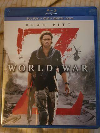 🚚 Blu Ray World War Z