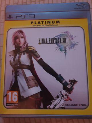 🚚 Final Fantasy XIII 13 PS3