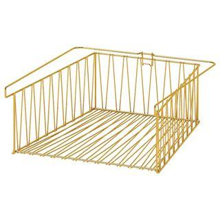 Looking For This IKEA Kallax Gold Golden Wire Basket