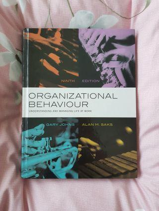 Organizational Behaviour: Understanding and Managing Life at Work (9th Edition)
