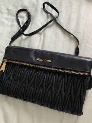 14be7c6e746 Miu Miu Matelasse Clutch Bag