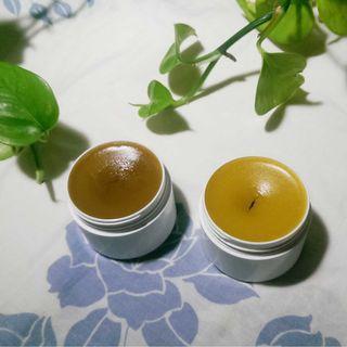 竹薑膏 60g150元 2天熬煮 冷壓初榨橄欖油 冷壓麻油 蜂蠟 20克70元 竹薑粉 薑膏