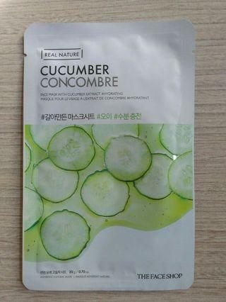 #CintaiBumi [NEW] THE FACE SHOP CUCUMBER MASKER