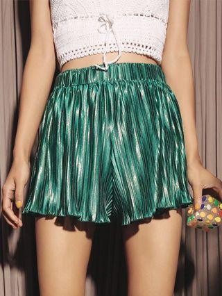 Super cute green vintage shorts
