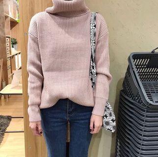 🚚 高領針織毛衣
