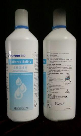 Buffered Saline Solution