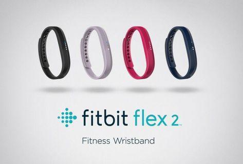 Fitbit Flex 2 運動追踪器 黑色