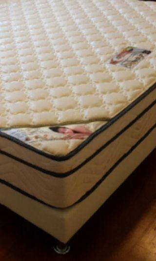 BRANDED KING SIZE MATTRESS WITH BEDFRAME