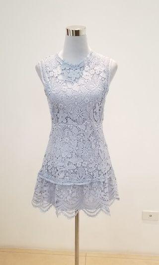 self portrait insp lavender lace dress