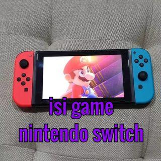 isi game nintendo switch - ps 4 dan xbox one
