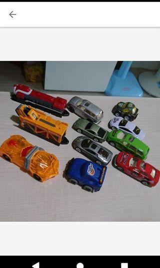 二手 玩具車車11台