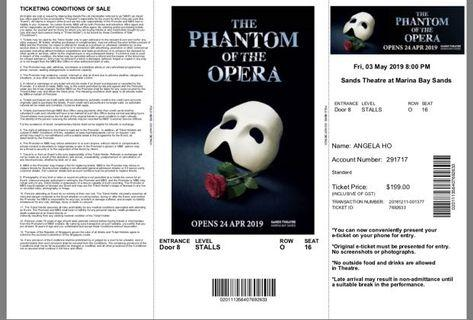 🚚 Phantom of The Opera