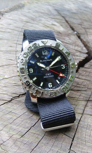 Blancpain Fifty Fathoms. Watch and warranty booklet only