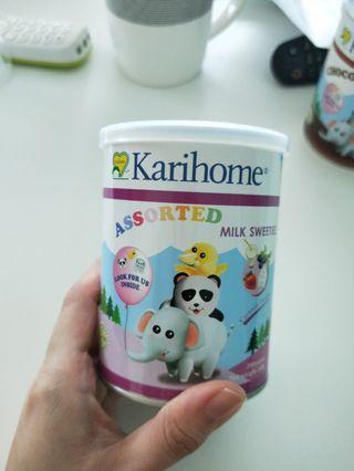 BN Karihome assorted milk sweeties