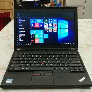 (I5 cpu 5 sec turn on) Lenovo X230 12.5inch laptop(windows 10*can change to english version*/4g ddr3 ram/samsung 840 ssd(120gb)/wifi/lan/webcam/usb3.0/bluetooth/card reader/with charger/battery life around 2.5hrs)