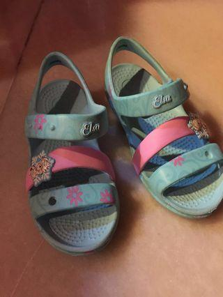 Crocs Girls Frozen Sandal