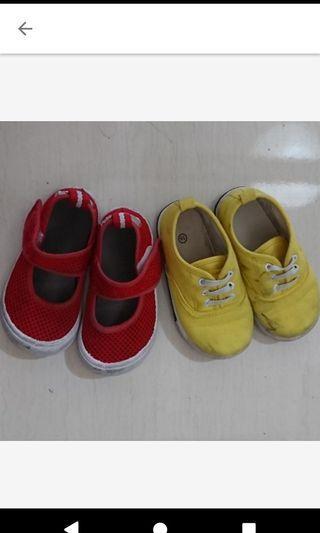 兩雙童鞋 二手15 .16號