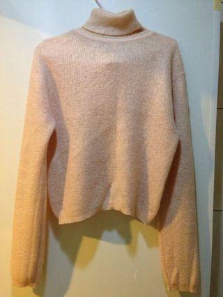 🚚 韓 淺粉色毛衣#十一月女裝半價