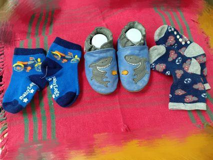 Pre-walkers soft soles for 6-12 months