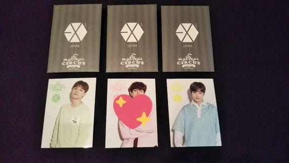 [INCOMING STOCK] EXO-CBX MAGICAL CIRCUS SPECIAL EDITION FANCLUB PHOTOCARD